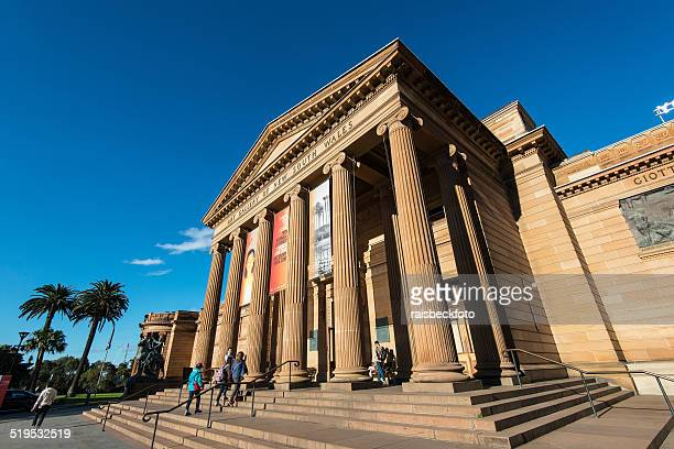 art gallery of new south wales in sydney, australia - new south wales stock pictures, royalty-free photos & images