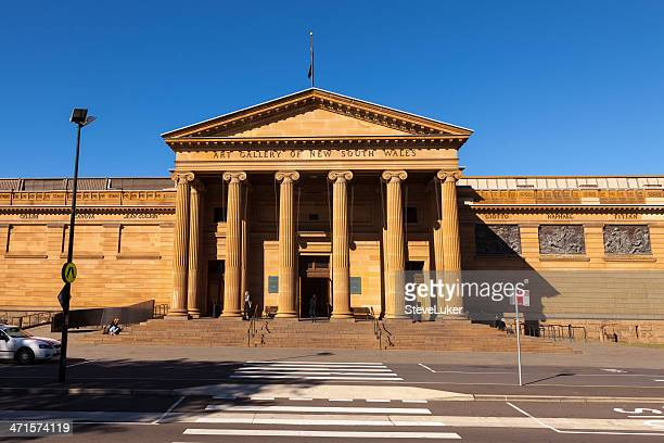 art gallery of new south wales - new south wales stock pictures, royalty-free photos & images