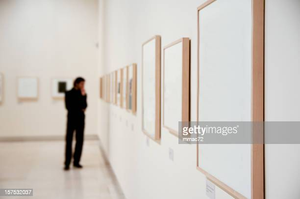 art gallery - fine art painting stock pictures, royalty-free photos & images