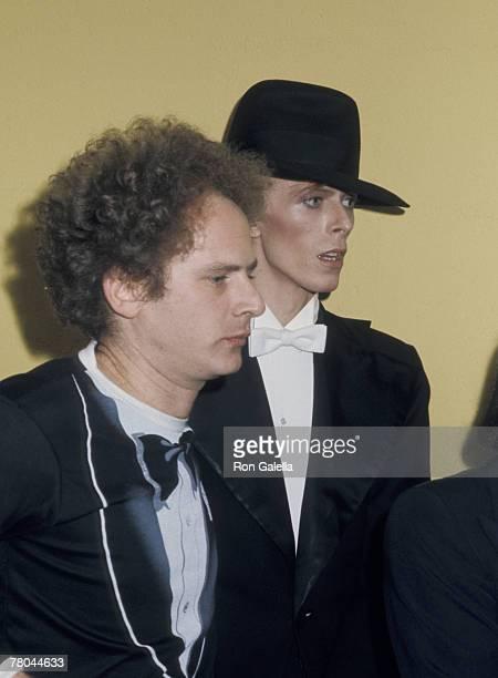 Art Garfunkel and David Bowie