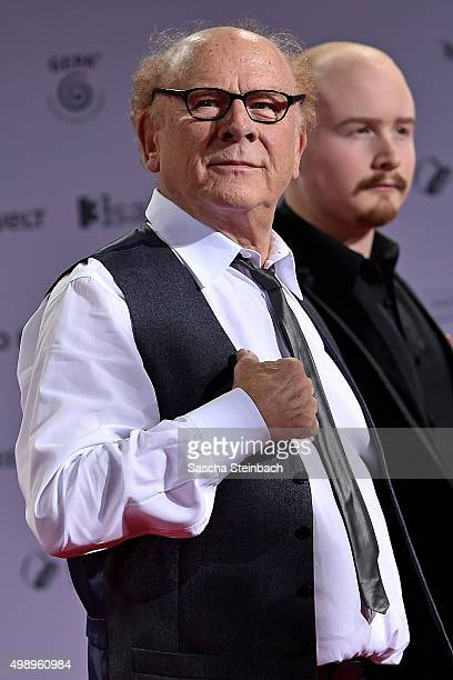 Art Garfunkel and his son James attend the German Sustainability Award 2015 at Maritim Hotel on November 27 2015 in Duesseldorf Germany