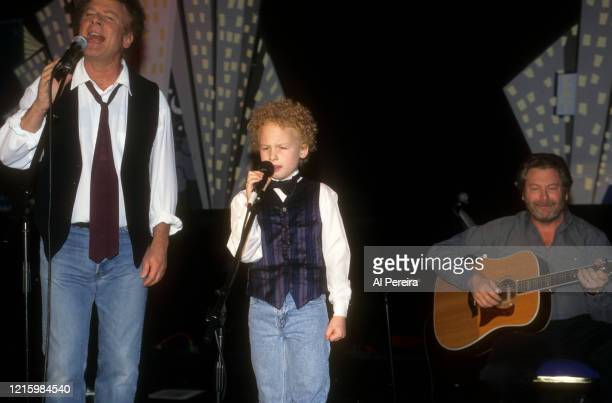 Art Garfunkel and his son James performs at The Supper Club at The Supper Club on March 4 1999 in New York City