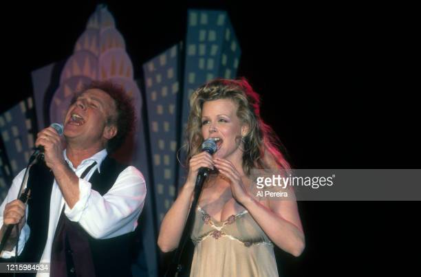 Art Garfunkel and his wife Kim perform at The Supper Club at The Supper Club on March 4 1999 in New York City