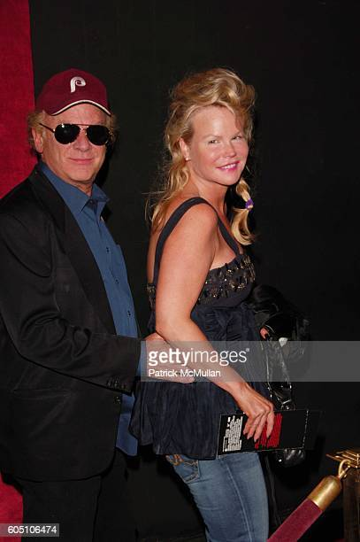 Art Garfunkel and Kim Garfunkel attend The Departed inside red carpet arrivals at Ziegfeld NYC on September 26 2006