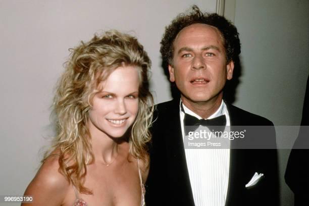 Art Garfunkel and Kim Garfunkel circa 1990 in New York City