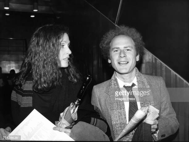 Art Garfunkel and photographer girlfriend Edie Baskin circa 1978 in New York City