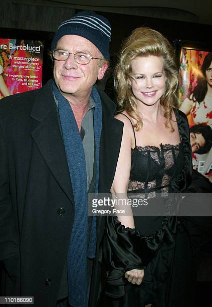 Art Garfunkel and wife Kim during The Dreamers New York Premiere Inside Arrivals at The Beekman Theatre in New York City New York United States