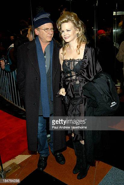 Art Garfunkel and wife Kim during The Dreamers Premiere New York Inside Arrivals at Beekman Theater in New York City New York United States