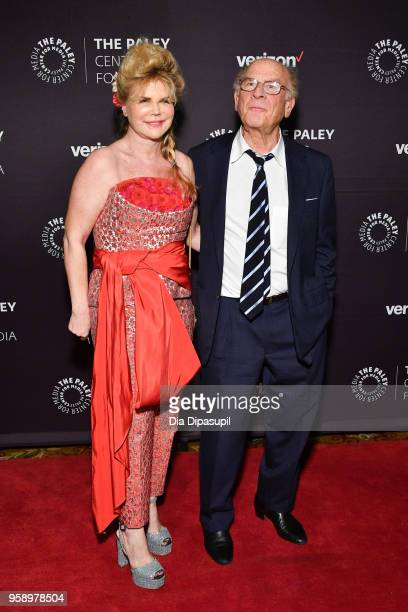 Art Garfunkel and wife Kim Garfunkel attend the 2018 Paley Honors at Cipriani Wall Street on May 15 2018 in New York City