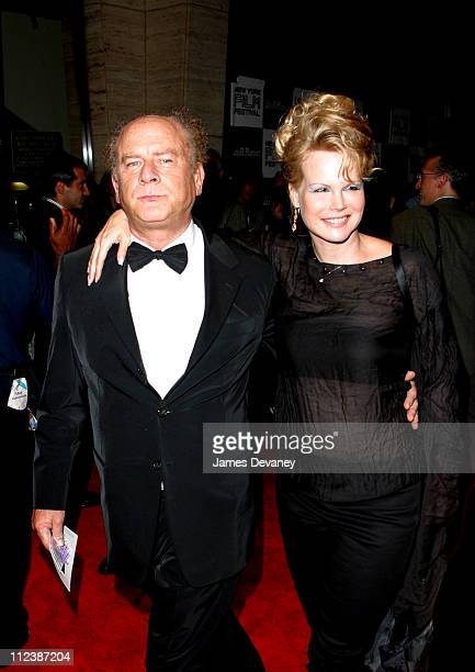 Art Garfunkel and wife Kim Garfunkel during 40th New York Film Festival Opening Night About Schmidt Premiere at Avery Fisher Hall Lincoln Center in...