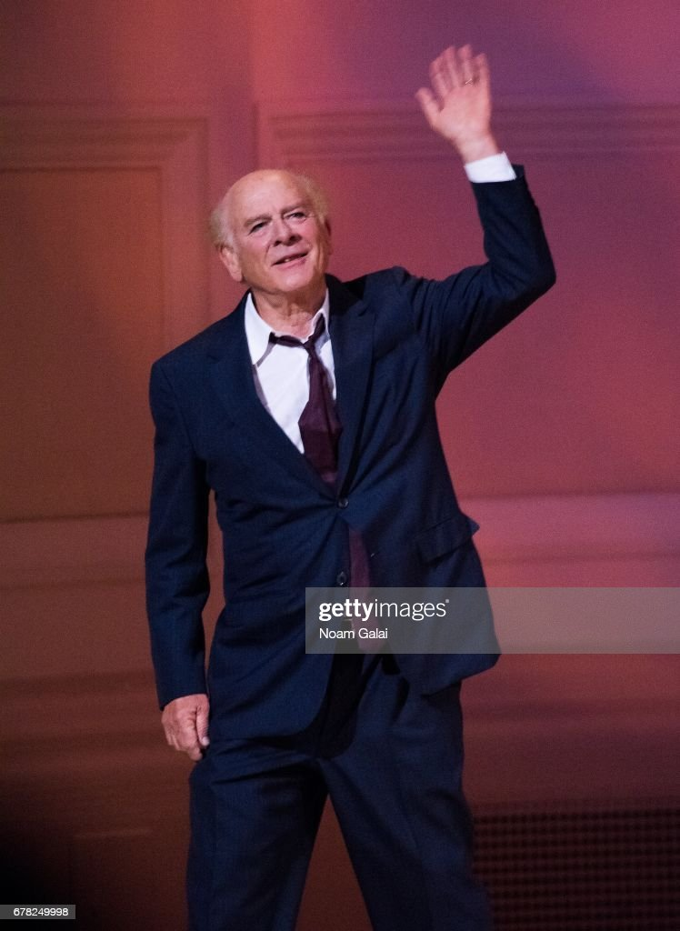 Art Garfunkel performs during a tribute concert honoring Jimmy Webb at Carnegie Hall on May 3, 2017 in New York City.