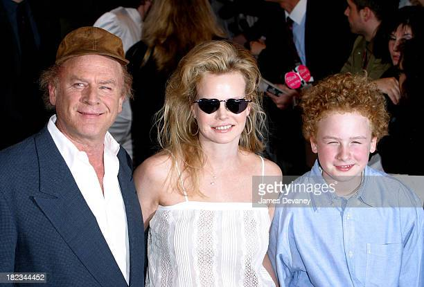Art Garfunkel with wife and son during It Runs in the Family New York Premiere Outside Arrivals at Loews Lincoln Square in New York City New York...