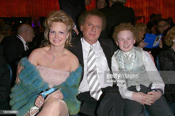 Art Garfunkel with wife and son James during The 45th Annual GRAMMY Awards Nominee Reception and Special Awards Ceremony at Sheraton New York Hotel...