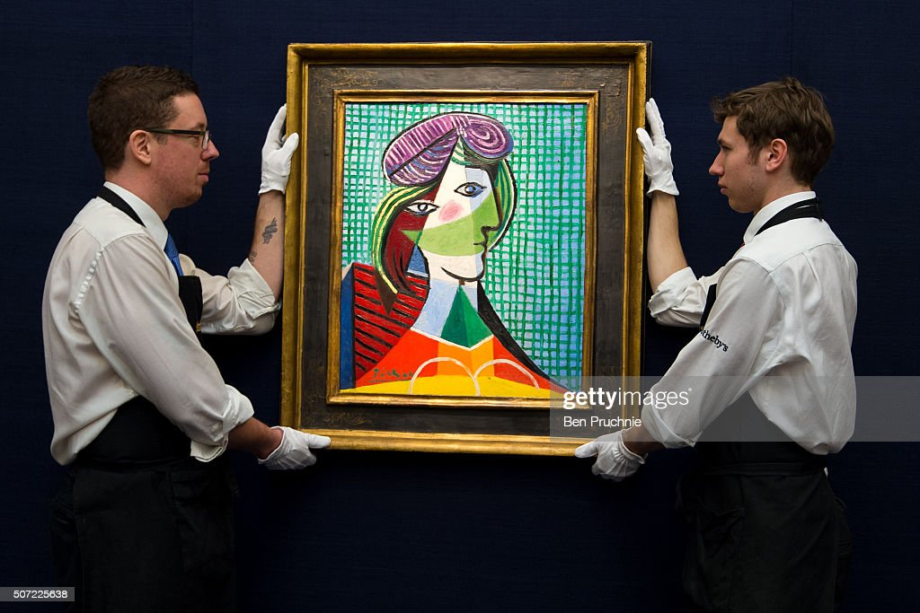 Highlights Of Sotheby's Giants Of 20th Century Art Sale : News Photo