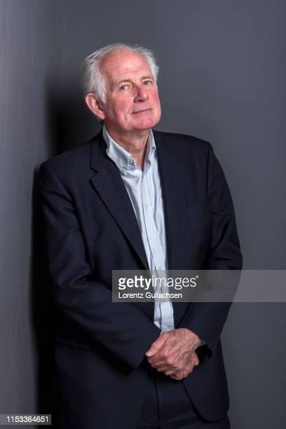 Art historian and tv presenter Dan Cruickshank is photographed on April 28 2018 in StratforduponAvon England