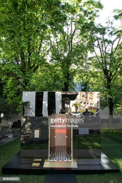 Art Installation at Bulgari Hotel by Ivan Navarro and MVRDV studio for Fuorisalone Milan April 17th 2018