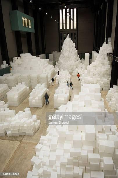 Art installation by Artist, Tate Modern gallery.