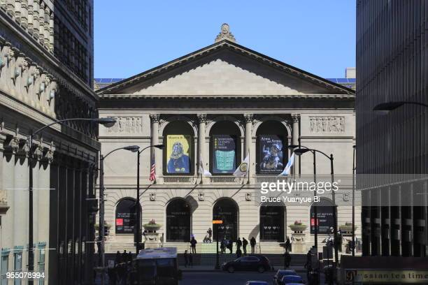 art institute of chicago - art institute of chicago stock pictures, royalty-free photos & images