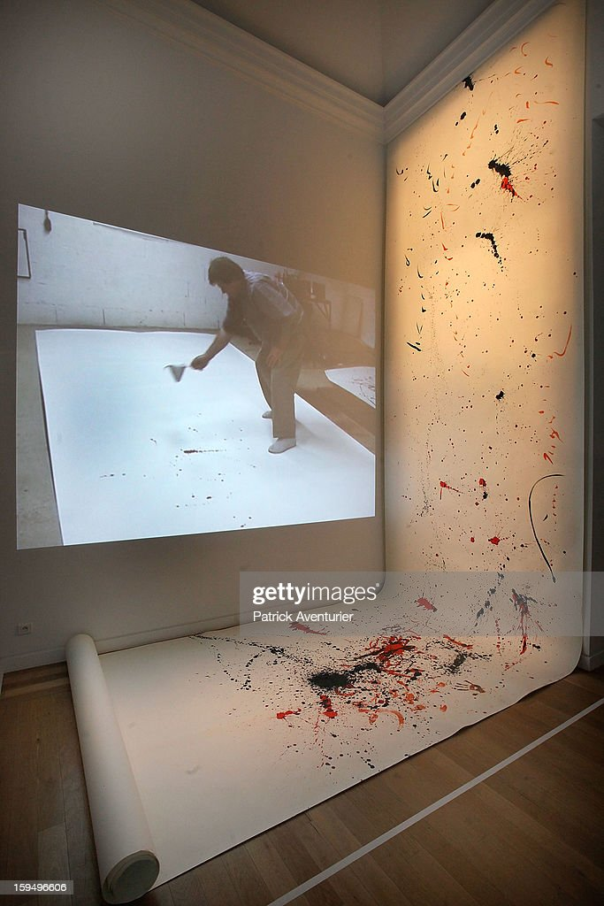 'L'art l'endroit' is seen during the contempory art exhibition for Marseille-Provence 2013 European Capital of Culture on January 13, 2013 in Aix-en-Provence, France.