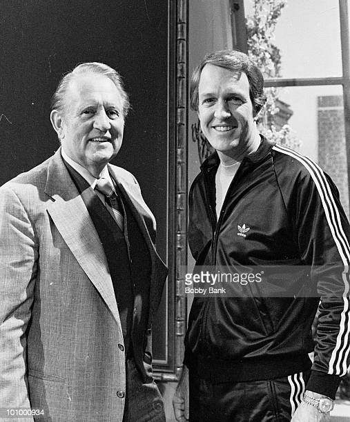 Art Linkletter is seen with his son Jack Linkletter at America Live Studios on October 9, 1978 in New York City. According to reports, Linkletter...
