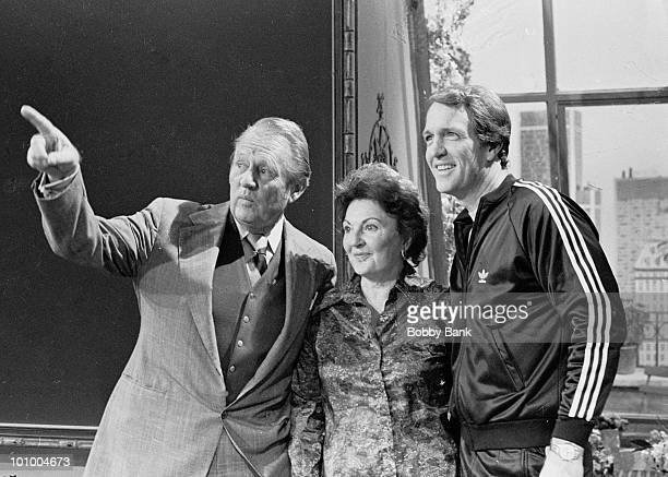 Art Linkletter is seen with his wife Lois Foerster and son Jack Linkletter at America Live Studios as seen on October 9, 1978 in New York City....