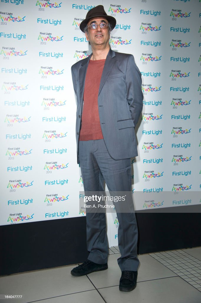 Art Malik attends the First Light Awards at Odeon Leicester Square on March 19, 2013 in London, England.