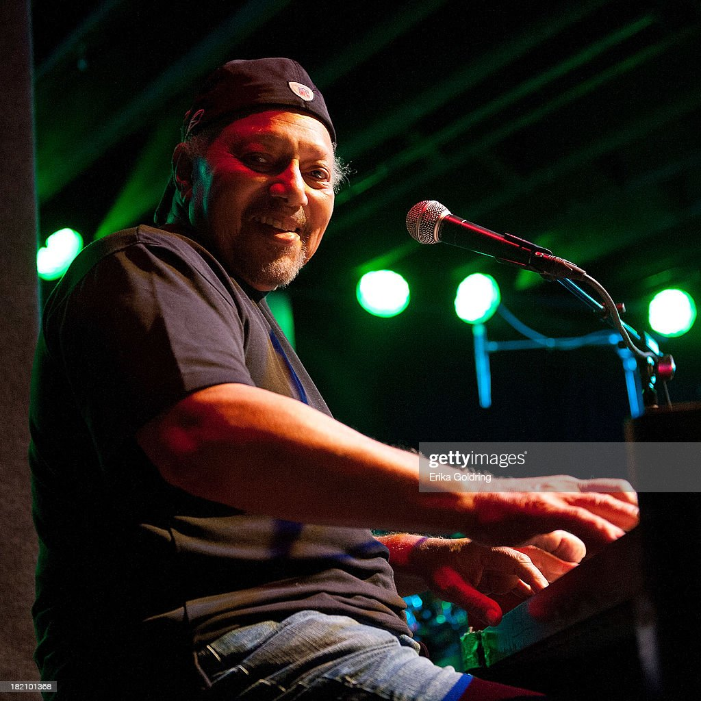 Art Neville of The Funky Meters performs at Tipitina's on September 27, 2013 in New Orleans, Louisiana.