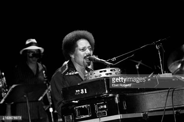Art Neville performing with The Neville Brothers at The Savoy in New York City on August 10, 1981.