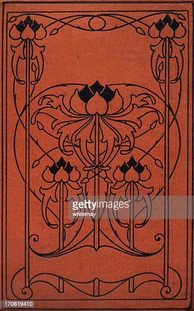 art nouveau book cover - art nouveau stock pictures, royalty-free photos & images