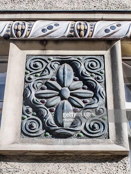 Art nouveau decoration, Prague