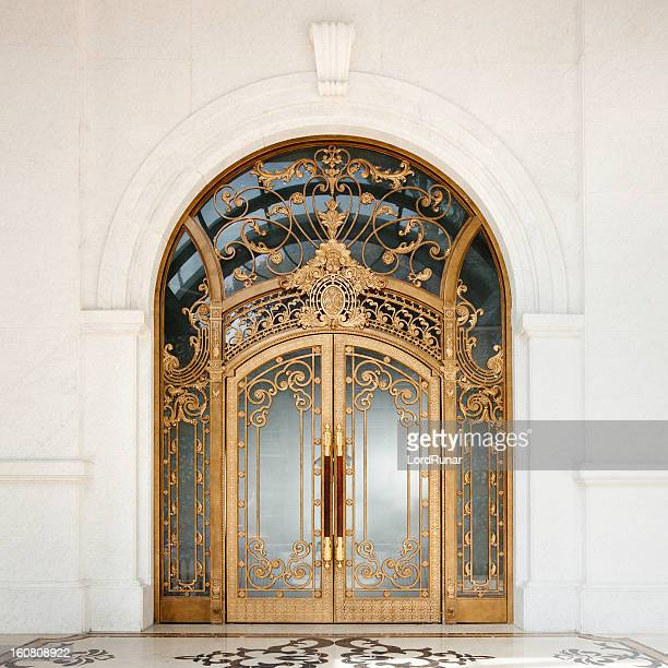 art nouveau door - ornate stock pictures, royalty-free photos & images