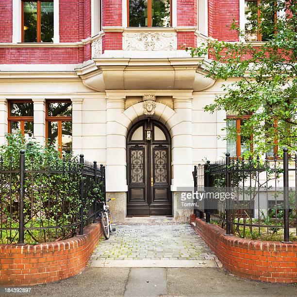 Art Nouveau Entrance of an Old Townhouse
