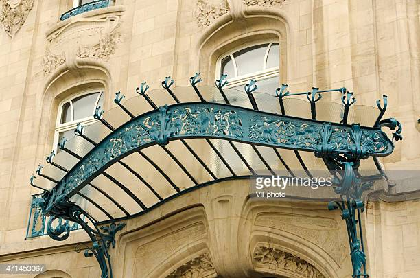 art nouveau in nancy - art nouveau stock pictures, royalty-free photos & images