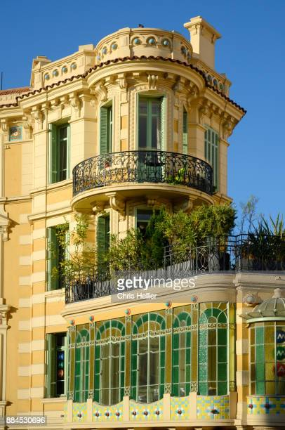 Art Nouveau or Belle Epoque House with Bay Window Cannes