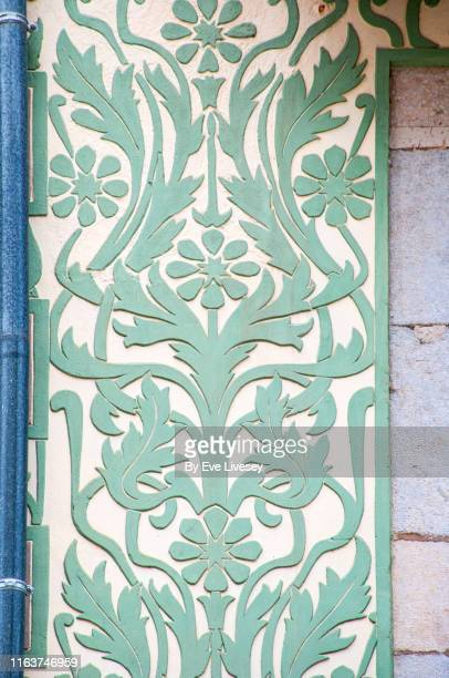 art nouveau panel - art nouveau stock pictures, royalty-free photos & images