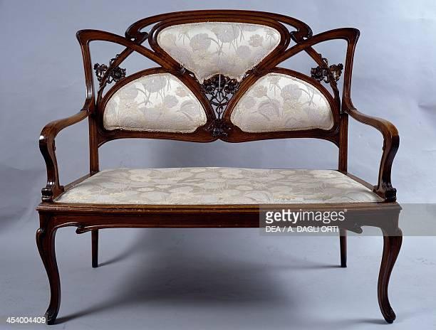 Art Nouveau style sofa France 20th century