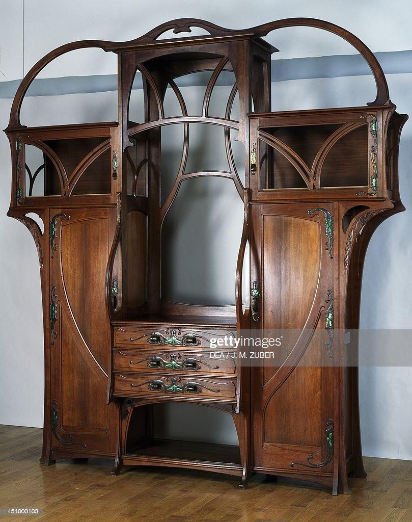Art Nouveau Style Welsh Dresser News Photo