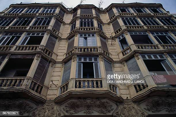 Art Nouveaustyle building Bejaia Algeria