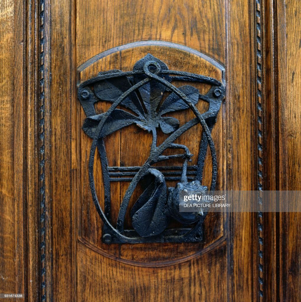 Wrought-iron decoration, Sanremo, Liguria Pictures | Getty Images