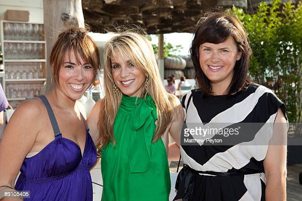 Art Of Elysium national program director Allison Beck public relations agent Alison Brod and Art of Elysium founder Jennifer Howell attend a summer...