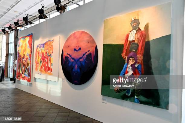 Art on display during the 71st Annual Parsons Benefit honoring Pharrell, Everlane, StitchFix & The RealReal on May 20, 2019 in New York City.