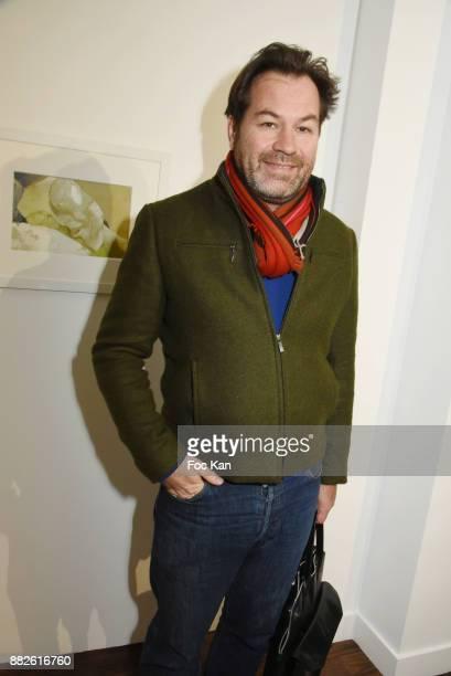 Art Paris director Guillaume Piens attends the Tribute to Leonardo Cremonini Exibition Preview at Galerie T Lon November 29 2017 in Paris France