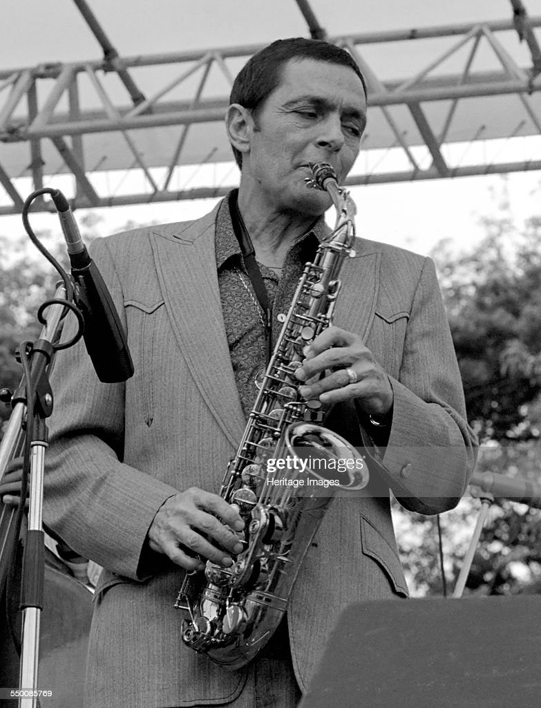 Art Pepper, American Alto Saxophonist And Clarinetist, Capital Jazz,  Knebworth, 1981.   Artist: Brian O'Connor. : Photo d'actualité