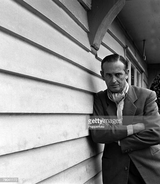 Art Personalities A portrait of English artist Graham Sutherland pictured at the time he had been commissioned to paint a portrait of Winston...