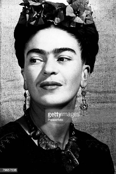 circa 1930's Frida Kahlo Mexican born artist/painter