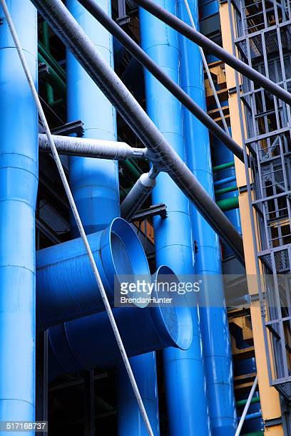 hvac art - centre georges pompidou stock pictures, royalty-free photos & images
