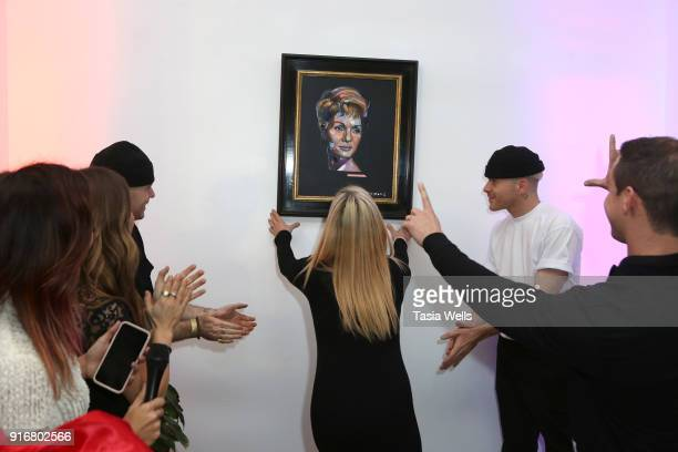 Art reveal at Debbie Reynolds Legacy Studios Grand Opening at Debbie Reynolds Legacy Studios on February 10 2018 in North Hollywood California