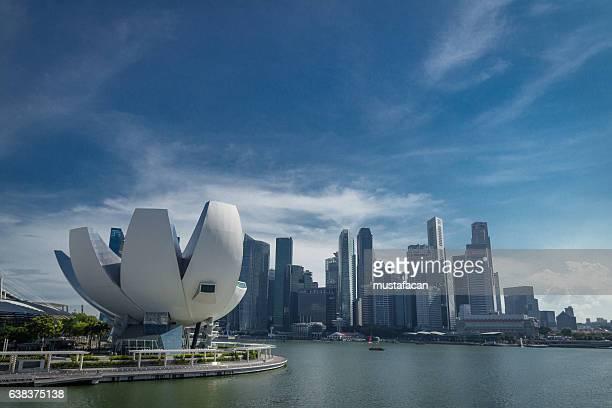Art Science Museum and Singapore CBD