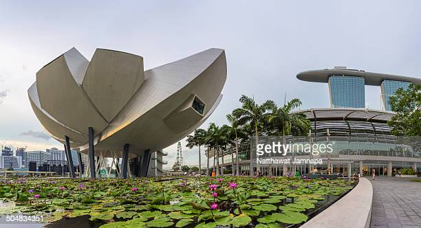 Art Science Museum, Marina Bay, Singapore, Southeast Asia.