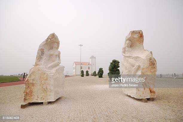 Art sculptures in Esposende